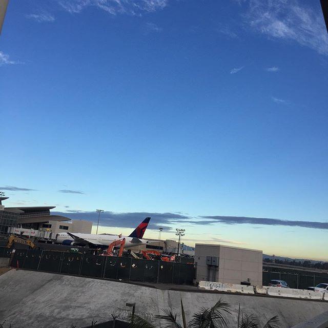 帰りま〜〜す️See you ️ #leaving #losangels #california