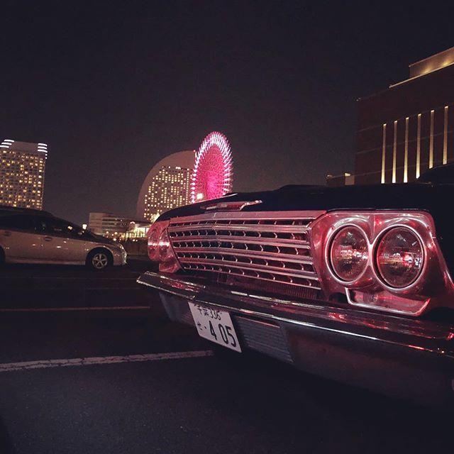 Yokohama Nightcruise!#kalifornialookkruisenite #impala #62impala