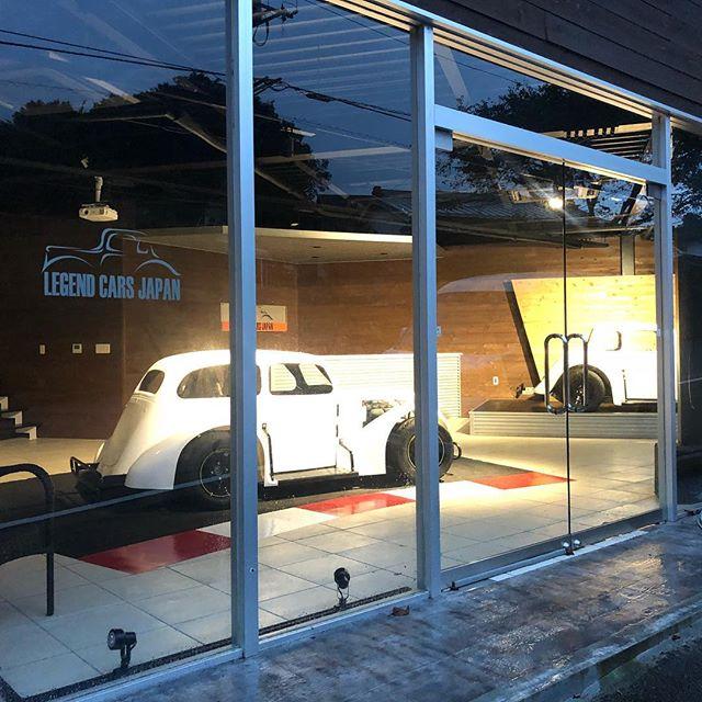 今日はLegendCarsJapan ショールームで秘密の打ち合わせww#legendcar #legendcars #legendcarsjapan #autofactory