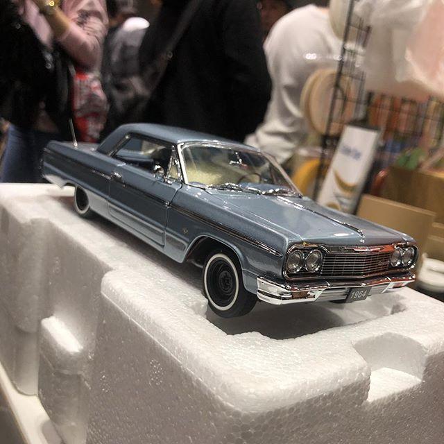 本日の目玉️64Impala️新車ww#hrcs2018 #impala #impala64 #modelcar