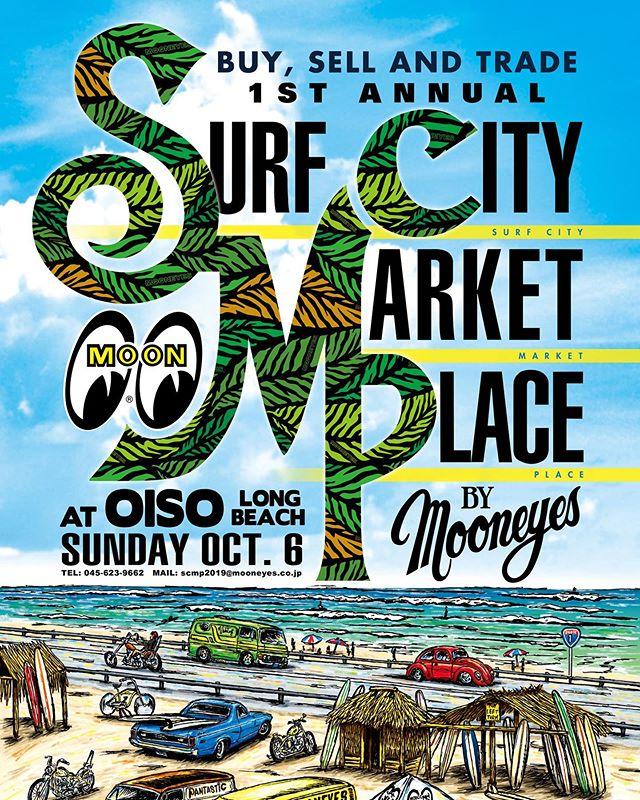 6日 日曜日は大磯ロングビーチで開催のMooneyesSurf city market placeDaytonaブースでお待ちしておりますwBuy&Sell&Tradeさてなにを持って行きますかねw#mooneyes #scmp #大磯ロングビーチ