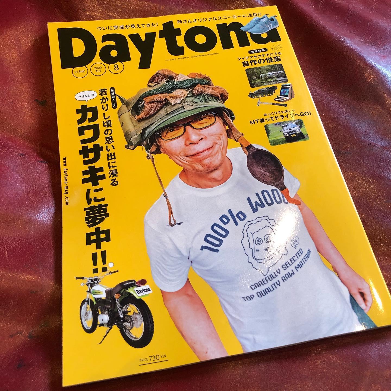 Daytona 8月号 発売でございます️ポーターはエンジン周り️千葉北のご近所さんRacing service Tepsさんにサージタンクやらタービンやらウェットブラストかけてもらいました️カピカピの部品が新品になりましたwwありがとうございました️#Daytona #daytonamagazine #wetblust #エンジン#ピカピカ #mazda #porter #マツダ #ポーター #レストア #千葉 #千葉北 #dmc #bodyshop